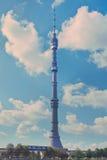 De toren van de Ostankinotelevisie Royalty-vrije Stock Foto's