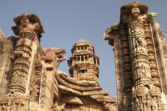 De Toren van de overwinning (Vijay Stambha) Royalty-vrije Stock Afbeelding