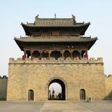 De toren van de poort in de stad van China Stock Afbeelding