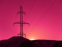 De toren van de raaklijn Stock Fotografie
