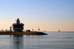 De toren van de radar Royalty-vrije Stock Foto