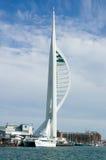 De Toren van de spinnaker, Portsmouth Stock Afbeelding