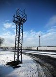 De toren van de spoorweg Royalty-vrije Stock Afbeeldingen