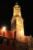 De toren van de stad in Innsbruck Stock Fotografie