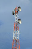 De toren van de telecommunicatie Stock Foto