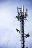 De toren van de telecommunicatie. Royalty-vrije Stock Afbeeldingen