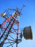 De toren van de telecommunicatie Royalty-vrije Stock Foto