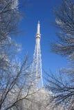 De toren van de televisie Stock Foto's