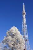 De toren van de televisie stock afbeelding
