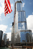 De Toren van de Troef van Chicago. stock foto