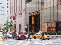 De Toren van de troef, Vijfde Weg, New York stock foto