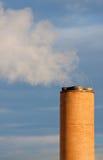 De toren van de uitlaat Stock Foto