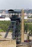 De toren van de Vitkovicemijnbouw Stock Foto's