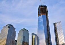 De Toren van de vrijheid in de Stad van New York stock foto's