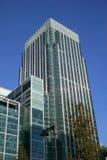 De Toren van de Werf van de kanarie in Docklands van Londen Stock Afbeeldingen