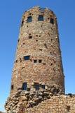 De toren van de woestijnrots Stock Foto