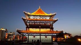 De toren van de Xi'anmuur Stock Afbeelding