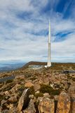 De Toren van de zenderantenne Stock Foto