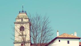 De Toren van de Zuid- urrugnekerk Frankrijk Europa Royalty-vrije Stock Afbeelding
