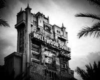 De Toren van Disney Hollywood van Verschrikking - Hollywood-Studio's - Orlando, Florida stock fotografie