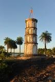 De toren van Dreyfus in Kourou, Frans Guyana. Royalty-vrije Stock Afbeeldingen