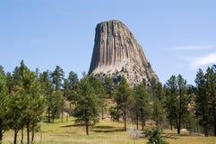 De Toren van duivels, Wyoming royalty-vrije stock foto