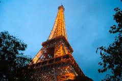 De toren van Eifel in Parijs Stock Afbeeldingen