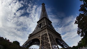 De toren van Eiffel stock footage