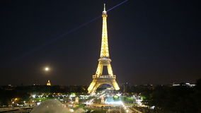 De Toren van Eiffel stock video