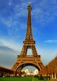 De Toren van Eiffel bij daglicht - Parijs Royalty-vrije Stock Foto's