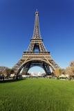 De toren van Eiffel in de herfst Stock Foto's