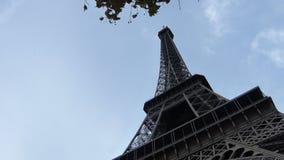 De Toren van Eiffel in de Stad van Parijs Frankrijk stock videobeelden