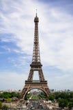 De toren van Eiffel. De tijd van de lente Stock Afbeeldingen
