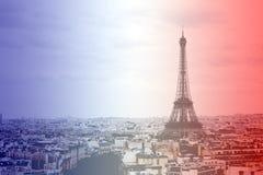 De toren van Eiffel, Frankrijk Royalty-vrije Stock Afbeeldingen