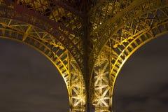 De toren van Eiffel in kleuren Stock Afbeelding