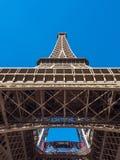 De toren van Eiffel is oriëntatiepunt in Parijs Royalty-vrije Stock Foto's
