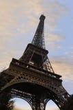 De toren van Eiffel in Parijs royalty-vrije stock afbeeldingen