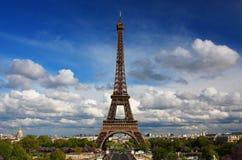 De toren van Eiffel in Parijs Stock Fotografie