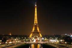 De Toren van Eiffel in Parijs. Royalty-vrije Stock Fotografie