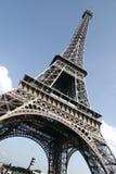 De Toren van Eiffel in Parijs Stock Foto