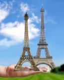 De toren van Eiffel - Parijs. Stock Afbeeldingen