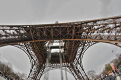 De Toren van Eiffel in Parijs Royalty-vrije Stock Foto
