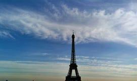 De Toren van Eiffel in Parijs Stock Foto's