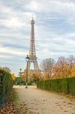 De Toren van Eiffel in Parijs Stock Afbeelding