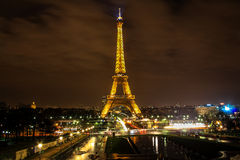 De Toren van Eiffel parijs Royalty-vrije Stock Foto's
