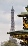 De toren van Eiffel in Parijs Royalty-vrije Stock Foto's