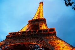 De Toren van Eiffel parijs Stock Foto