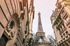 De Toren van Eiffel in Parijs, Frankrijk royalty-vrije stock afbeelding