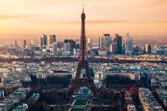 De Toren van Eiffel in Parijs, Frankrijk royalty-vrije stock foto