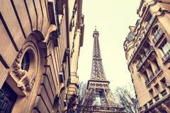 De Toren van Eiffel in Parijs, Frankrijk royalty-vrije stock afbeeldingen